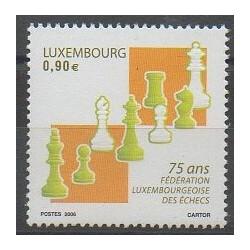 Luxembourg - 2006 - No 1668 - Échecs