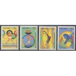 Cap-Vert - 1992 - No 615/618 - Jeux Olympiques d'été