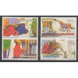 Cap-Vert - 1992 - No 623/626 - Artisanat ou métiers