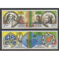 Cap-Vert - 1993 - No 631/634 - Histoire