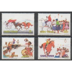 Cap-Vert - 1995 - No 673/676 - Folklore