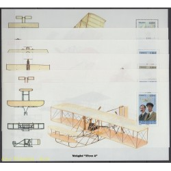 France - Souvenir Sheets - 2010 - Nb BS 49/BS 54 - Planes