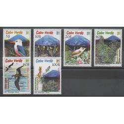 Cap-Vert - 2011 - No 943/948 - Oiseaux