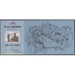 France - Souvenir Sheets - 2010 - Nb BS 48 - de Gaulle