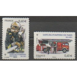 France - Self-adhesive - 2011 - Nb 601/602 - Firemen