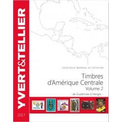 Timbres d'Amérique centrale de Haïti à Vierges (Edition 2017)