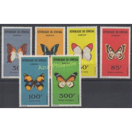 Senegal - 1963 - Nb 226/231 - Butterflies