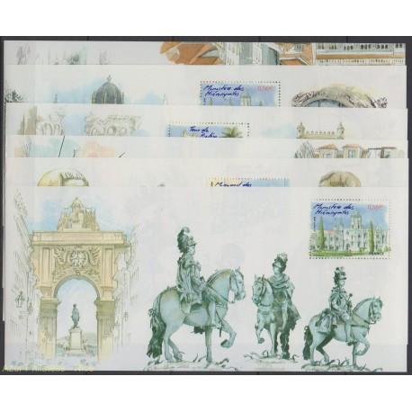 France - Souvenir Sheets - 2009 - Nb BS 38 / BS 43 - Sites