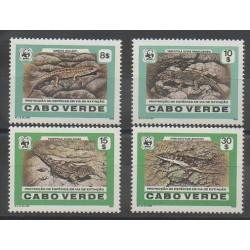 Cape Verde - 1986 - Nb 493/496 - Reptils