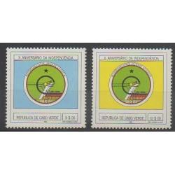 Cap-Vert - 1985 - No 489/490 - Histoire