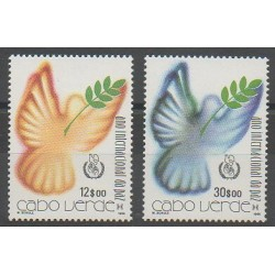 Cap-Vert - 1986 - No 500/501