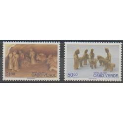 Cap-Vert - 1991 - No 607/608 - Noël