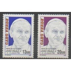 Cap-Vert - 1990 - No 563/564 - Papauté