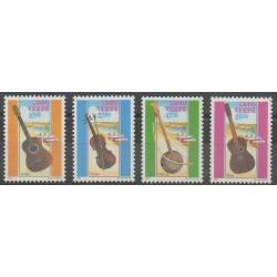 Cap-Vert - 1991 - No 603/606 - Musique
