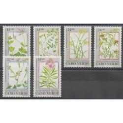 Cap-Vert - 1991 - No 597/602 - Fleurs