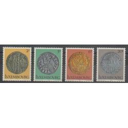 Luxembourg - 1980 - No 953/956 - Monnaies, billets ou médailles