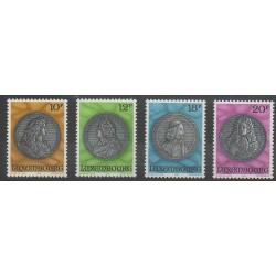 Luxembourg - 1986 - No 1094/1097 - Monnaies, billets ou médailles