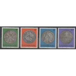 Luxembourg - 1981 - No 975/978 - Monnaies, billets ou médailles
