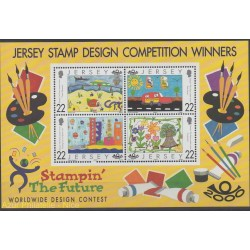 Jersey - 2000 - Nb BF 28 - Children's drawings