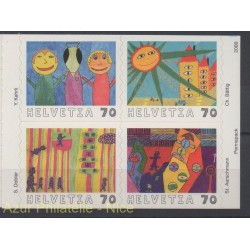 Swiss - 2000 - Nb 1659/1662 - Children's drawings