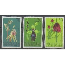 Liechtenstein - 2002 - No 1242/1244 - Orchidées