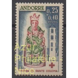 French Andorra - 1964 - Nb 172 - Art