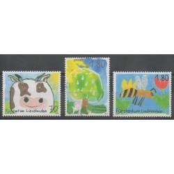 Liechtenstein - 2003 - No 1274/1276 - Dessins d'enfants