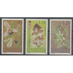 Liechtenstein - 2004 - No 1293/1295 - Orchidées