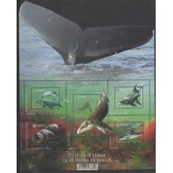 Belgique - 2017 - No F4681 - Mammifères - Animaux marins - Espèces menacées - WWF