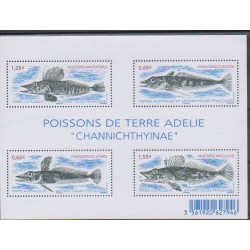 French Southern and Antarctic Lands - Blocks and sheets - 2015 - Nb F732 - Sea animals