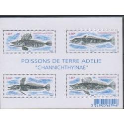 French Southern and Antarctic Lands - Blocks and sheets - 2015 - Nb F732 - Sea animals