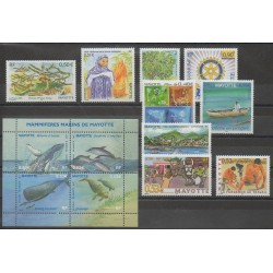 Mayotte - Complete year - 2005 - Nb 170/182