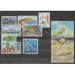 Mayotte - Année complète - 2006 - No 183/193