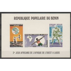 Bénin - 1977 - No BF24 - Epreuve de luxe - Sports divers