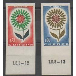 Monaco - 1964 - No 652a/653a - Europa