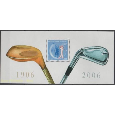 France - Bloc souvenir - 2006 - No BS 13 - Sport