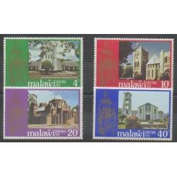 Malawi - 1978 - No 307/310 - Noël - Églises
