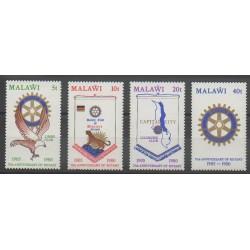 Malawi - 1980 - No 346/349 - Rotary