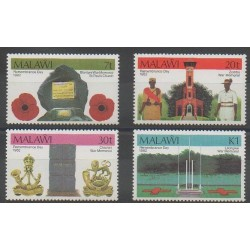 Malawi - 1982 - Nb 389/392 - Various Historics Themes