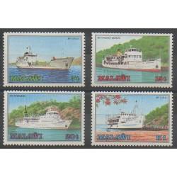 Malawi - 1985 - Nb 453/456 - Boats
