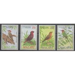 Malawi - 1985 - Nb 457/460 - Birds