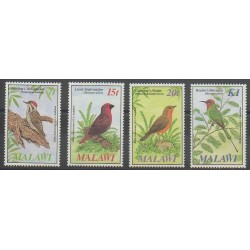 Malawi - 1985 - No 457/460 - Oiseaux