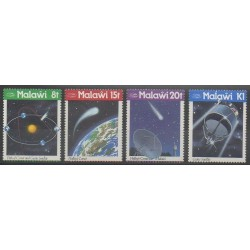 Malawi - 1986 - Nb 465/468 - Astronomy