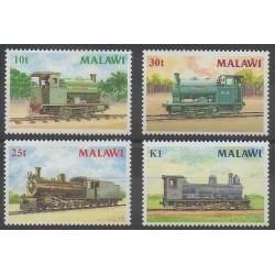 Malawi - 1987 - No 493/496 - Chemins de fer