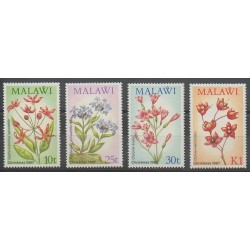 Malawi - 1987 - Nb 501/504 - Christmas - Flowers
