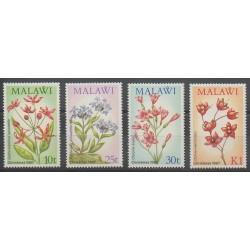Malawi - 1987 - No 501/504 - Noël - Fleurs