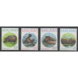 Malawi - 1987 - Nb 497/500 - Mamals