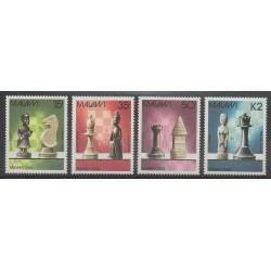 Malawi - 1988 - Nb 505/508 - Chess