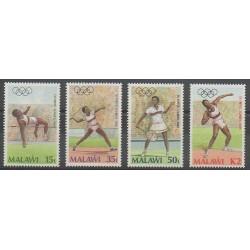 Malawi - 1988 - No 509/512 - Jeux Olympiques d'été