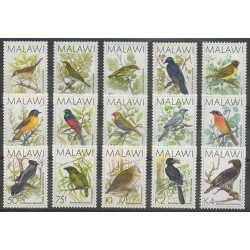 Malawi - 1988 - No 513/527 - Oiseaux